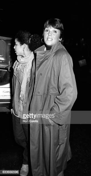 Kathryne Dora Brown and Tyne Daly sighted on October 30 1985 at the Regency Hotel in New York City