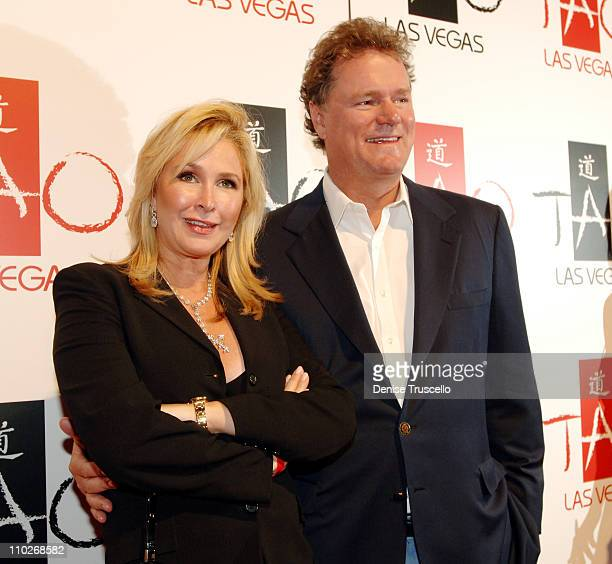 Kathy and Rick Hilton during TAO Grand Opening Weekend Celebration at TAO Restaurant and Nightclub at The Venetian Hotel and Casino in Las Vegas...