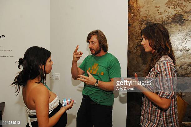 Kathy Azarmi Rose Jake Weber and Liz Carey attend the Roseark jewelry boutique opening event on June 3 2008 in West Hollywood and California