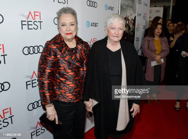 Kathy Bates and Barbara Bobi Jewell attend the Richard Jewell premiere during AFI FEST 2019 Presented By Audi at TCL Chinese Theatre on November 20...