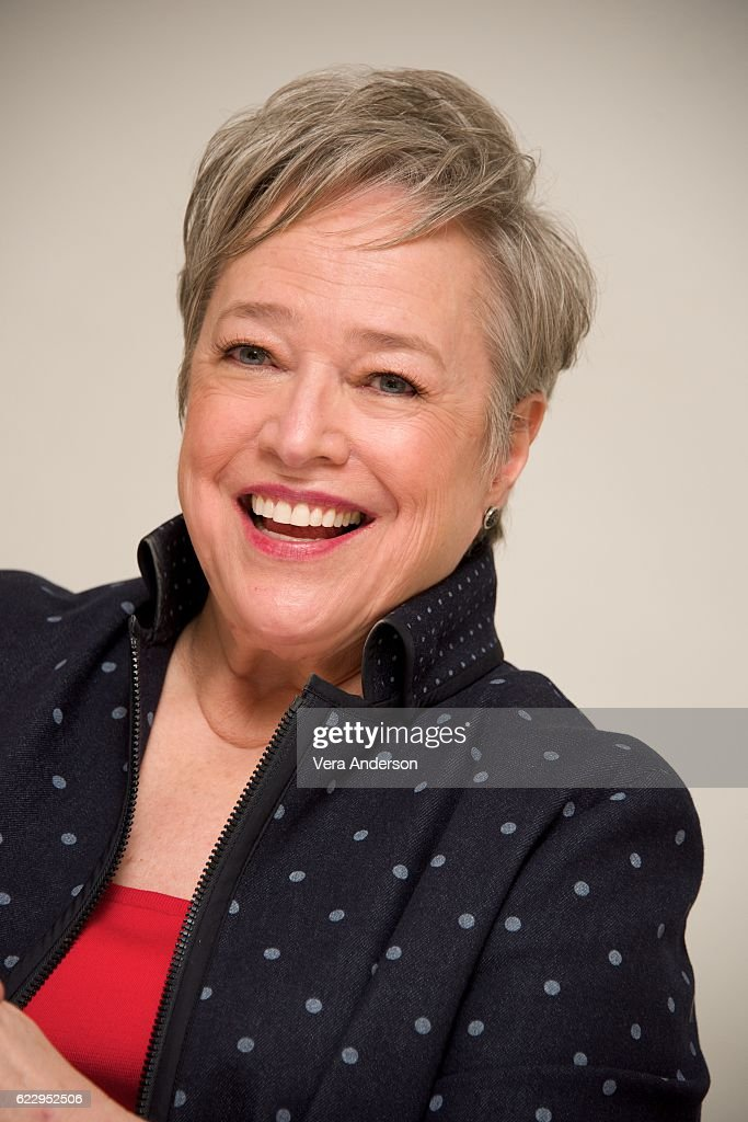 Kathy Bates at the 'Bad Santa 2' Press Conference at the Four Seasons Hotel on November 11, 2016 in Beverly Hills, California.