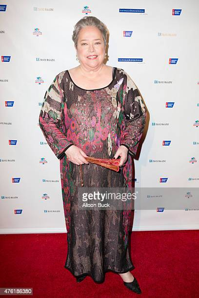 Kathy Bates attends American Cancer Society's Birthday Ballat The Beverly Hilton Hotel on June 6 2015 in Beverly Hills California