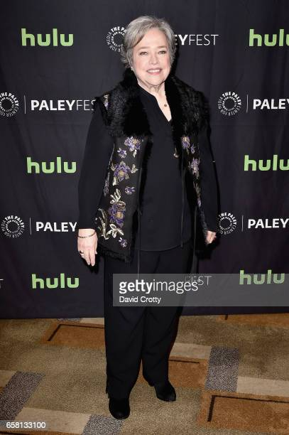 Kathy Bates attends PaleyFest Los Angeles 2017 'American Horror Story Roanoke' at Dolby Theatre on March 26 2017 in Hollywood California