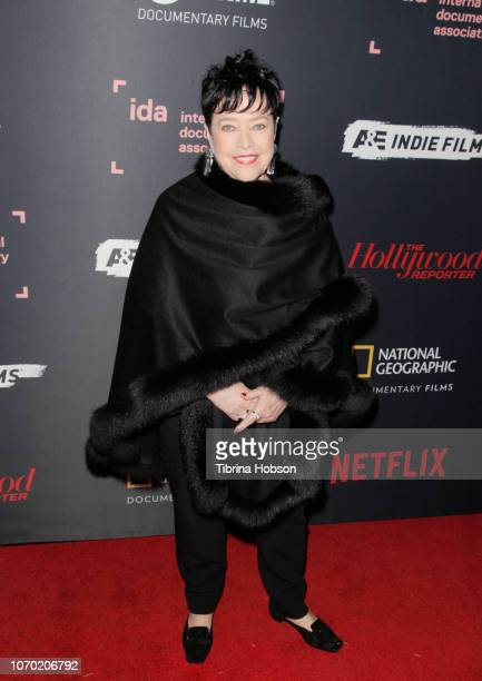 Kathy Bates attends the 2018 IDA Documentary Awards on December 8 2018 in Los Angeles California