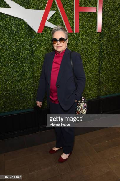 Kathy Bates attends the 20th Annual AFI Awards at Four Seasons Hotel Los Angeles at Beverly Hills on January 03 2020 in Los Angeles California