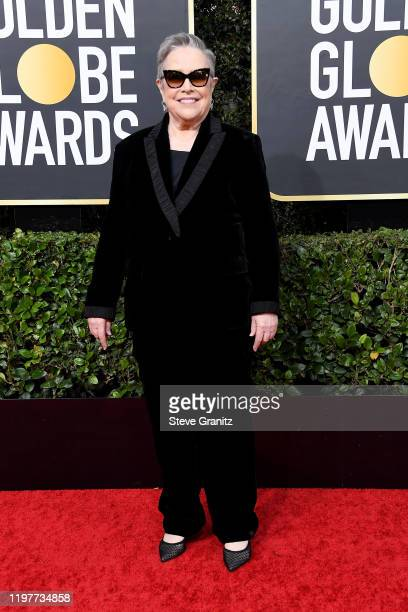 Kathy Bates attends the 77th Annual Golden Globe Awards at The Beverly Hilton Hotel on January 05 2020 in Beverly Hills California