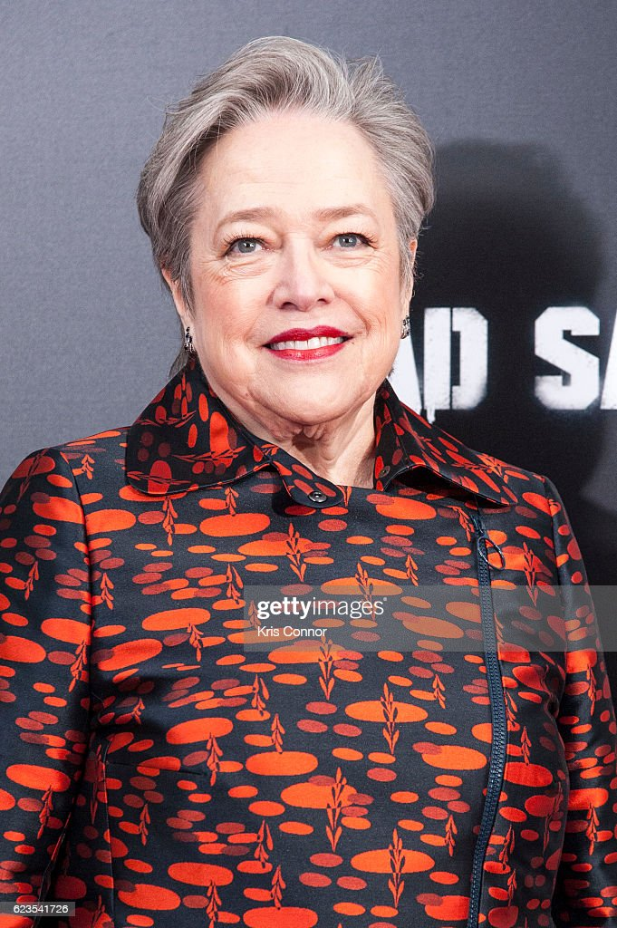 Kathy Bates attends the 'Bad Santa 2' New York Premiere at AMC Loews Lincoln Square 13 theater on November 15, 2016 in New York City.