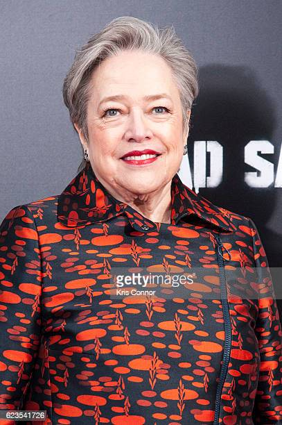 Kathy Bates attends the 'Bad Santa 2' New York Premiere at AMC Loews Lincoln Square 13 theater on November 15 2016 in New York City