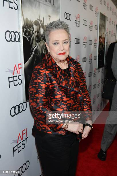 Kathy Bates attends the Richard Jewell premiere during AFI FEST 2019 Presented By Audi at TCL Chinese Theatre on November 20 2019 in Hollywood...