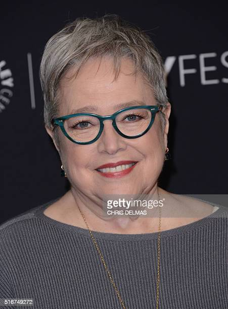 Kathy Bates attends the The 33rd annual PaleyFest Los Angeles hosted by The Paley Center for Media celebrating American Horror Story Hotel in...