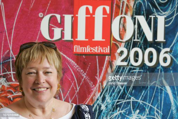 Kathy Bates during 2006 Giffoni International Children's Film Festival Press Conference and QA with Kathy Bates in Giffoni Italy