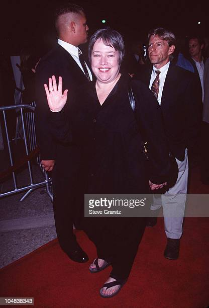 "Kathy Bates during ""Seven Years in Tibet"" Los Angeles Premiere at Cineplex Odeon Century Plaza Cinema in Century City, California, United States."