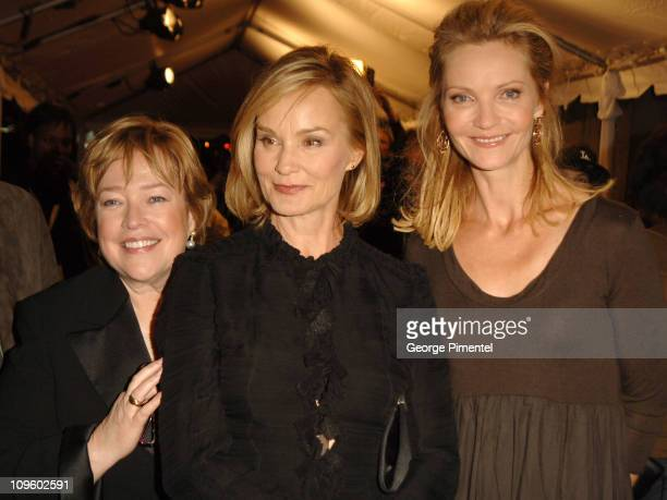 Kathy Bates Jessica Lange and Joan Allen during 31st Annual Toronto International Film Festival Bonneville Premiere at Roy Thompson in Toronto Canada