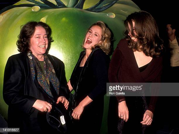 Kathy Bates Mary Stuart Masterson and Mary Louise Parker at the Premiere of 'Fried Green Tomatoes' Galaxy Theatre Hollywood