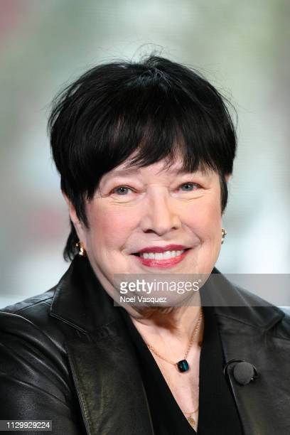 Kathy Bates visits Extra at Universal Studios Hollywood on February 15 2019 in Universal City California