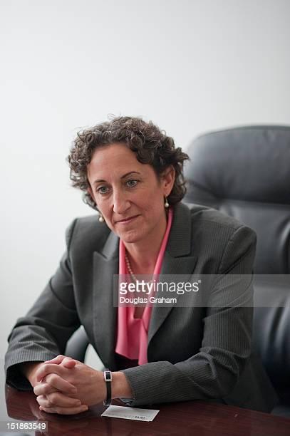 Kathy Boockvar Pennsylvania is interviewed at Roll Call in Washington DC
