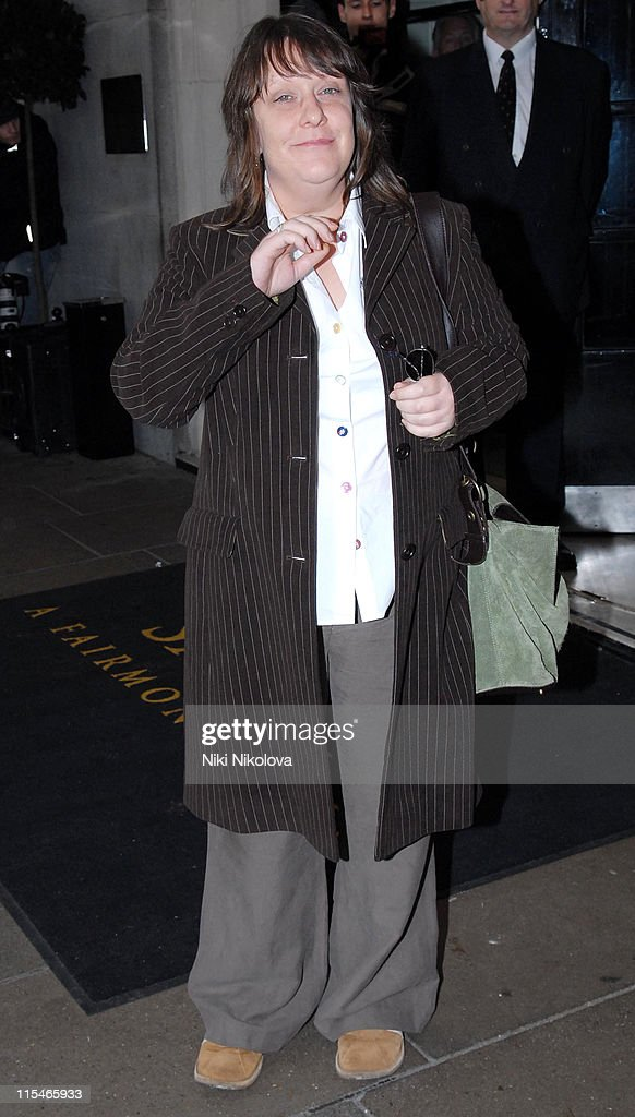 Kathy Burke during Evening Standard Theatre Awards - Arrivals at The Savoy in London, Great Britain.