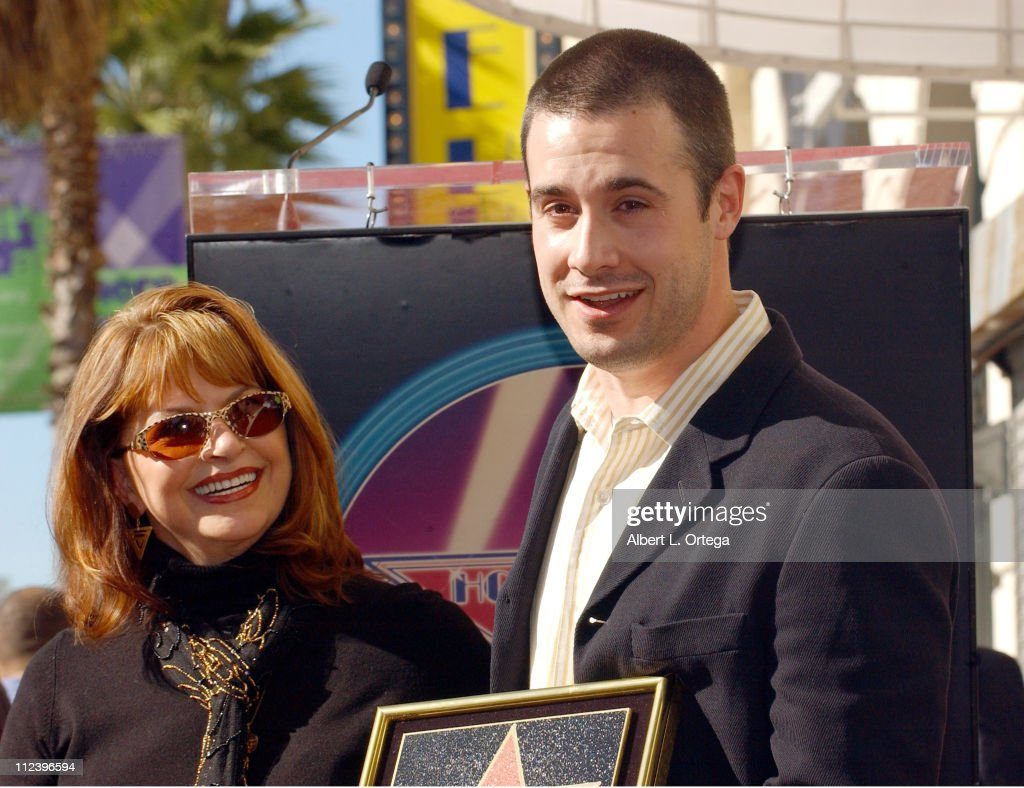Freddie Prinze Posthumously Honored with a Star on the Hollywood Walk of Fame for His Achievements in Television : News Photo