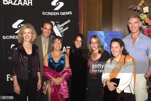 Kathy Dore, President Bravo Networks; Josh Sapan, CEO Of Rainbow Programming; Sarah Greene, Producer, 'Girlfight;' Michelle Rodriguez; Karyn Kusama,...