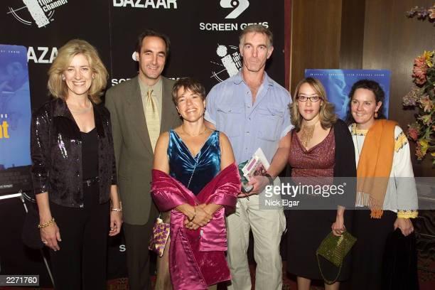 Kathy Dore, President Bravo Networks; Josh Sapan, CEO Of Rainbow Programming; Sarah Greene, Producer, 'Girlfight;' Karyn Kusama, Director,...
