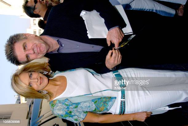 Kathy Freston and Tom Freston, Chairman and CEO of MTV Networks