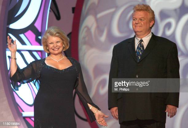 Kathy Garver and Johnny Whitaker during 5th Annual TV Land Awards Show at Barker Hangar in Santa Monica California United States