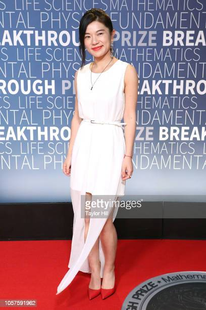 Kathy Gong attends the 7th Annual Breakthrough Prize Ceremony at NASA Ames Research Center on November 4 2018 in Mountain View California