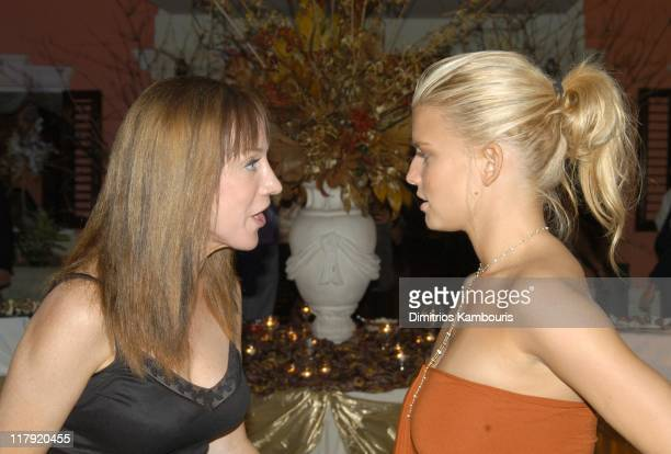 Kathy Griffin and Jessica Simpson during 2nd Annual Royal Plantation Celebrity Golf Classic to benefit St Jude Children's Reseach HospitalAfter Party...