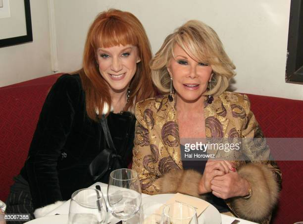 Kathy Griffin and Joan Rivers