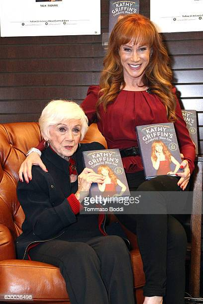 Kathy Griffin and Maggie Griffin attend Kathy Griffin Book Signing For Kathy Griffin's Celebrity RunIns My AZ Index at Barnes Noble at The Grove on...