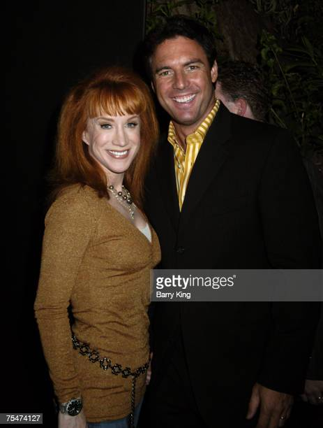 Kathy Griffin and Mark Steines at the Les Deux in Los Angeles CA