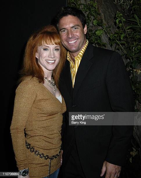 Kathy Griffin and Mark Steines during Mark Burnett and AOL Celebrate the Launch of GOLD RUSH Arrivals at Les Deux in Los Angeles California United...