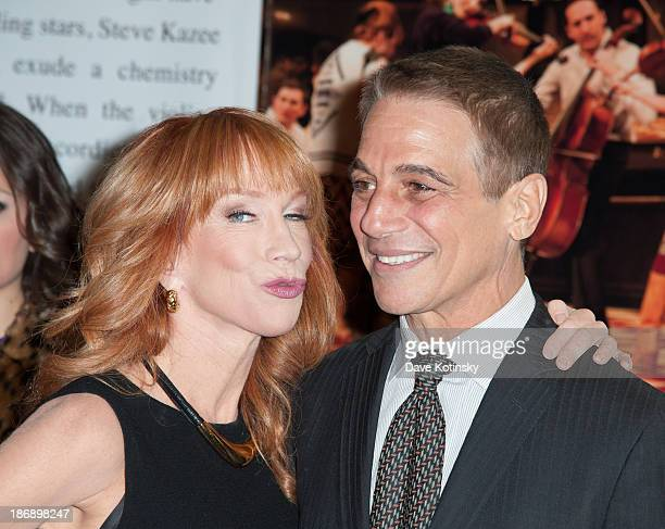 Kathy Griffin and Tony Danza attends the 14th Annual Make Believe On Broadway Gala at The Bernard B Jacobs Theatre on November 4 2013 in New York City