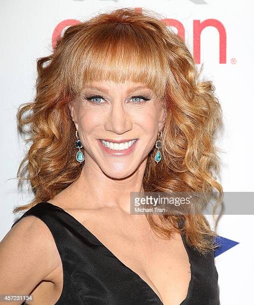 Kathy Griffin arrives at the 20th Annual Fulfillment Fund Stars Benefit Gala held at The Beverly Hilton Hotel on October 14 2014 in Beverly Hills...