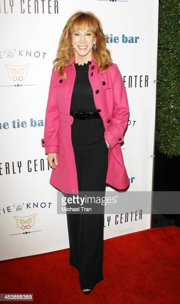 Kathy Griffin arrives at the 'Tie The Knot' popup store opening held at The Beverly Center on December 5 2013 in Los Angeles California