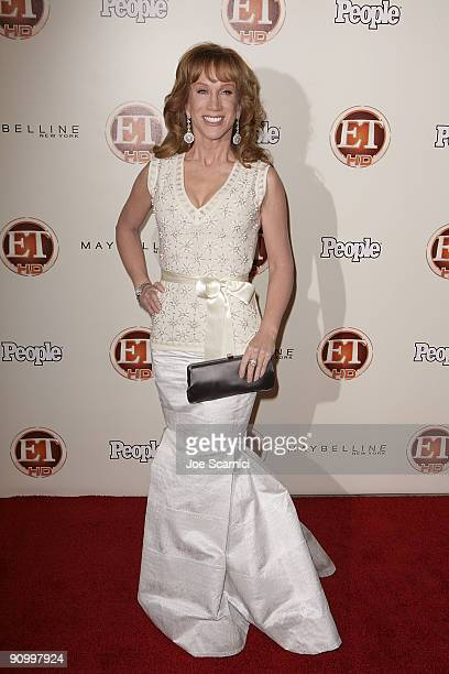 Kathy Griffin arrives at Vibiana for the 13th Annual Entertainment Tonight and People magazine Emmys After Party on September 20, 2009 in Los...
