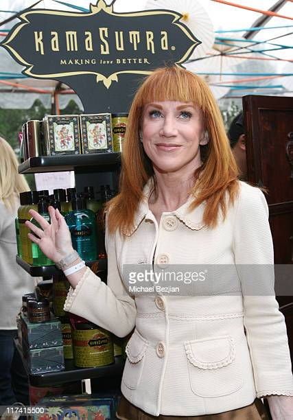 Kathy Griffin at Kama Sutra during 2007 Silver Spoon Golden Globes Suite Day 1 at Private Residence in Los Angeles California United States Photo by...