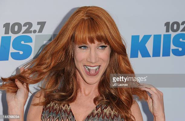 Kathy Griffin attends 1027 KIIS FM's Wango Tango at The Home Depot Center on May 12 2012 in Carson California