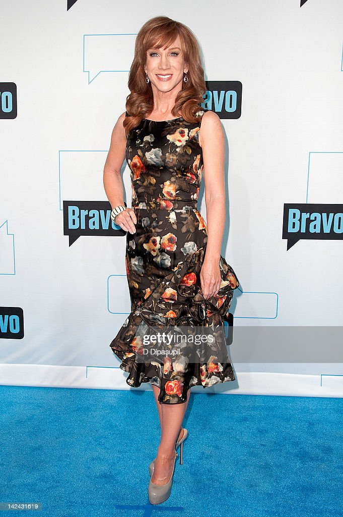 Kathy Griffin attends Bravo Upfront 2012 at Center 548 on April 4, 2012 in New York City.