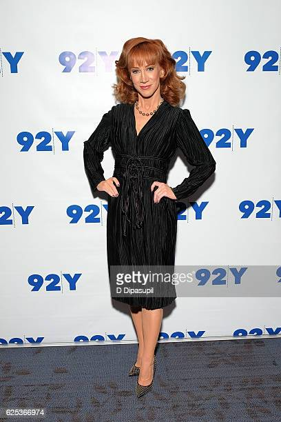 Kathy Griffin attends Kathy Griffin in Conversation with Joy Reid at 92nd Street Y on November 23 2016 in New York City