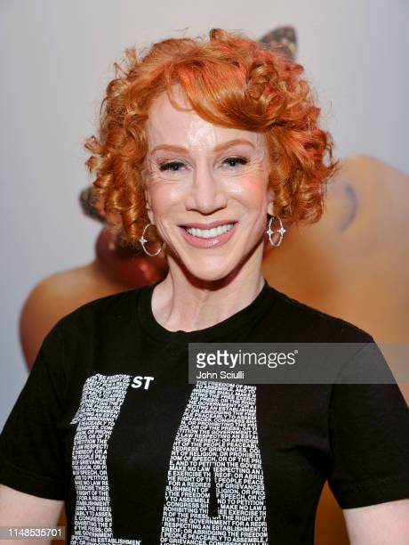 Kathy Griffin attends Roxane Gay in conversation with Kathy Griffin at Playboy Playhouse on May 11 2019 in Los Angeles California