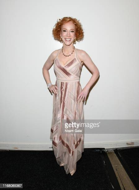 Kathy Griffin attends Some Funny S**t and QA at JCC Manhattan on August 14 2019 in New York City