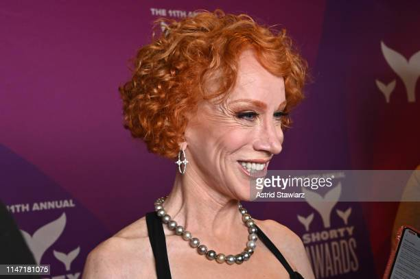 Kathy Griffin attends the 11th Annual Shorty Awards on May 05 2019 at PlayStation Theater in New York City