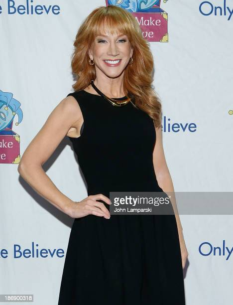 Kathy Griffin attends the 14th annual Make Believe On Broadway gala at The Bernard B Jacobs Theatre on November 4 2013 in New York City