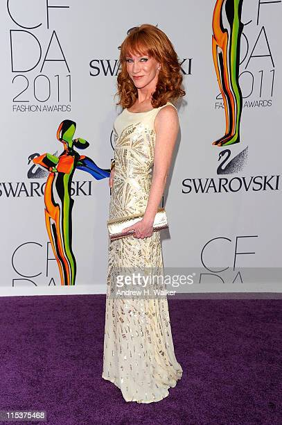 Kathy Griffin attends the 2011 CFDA Fashion Awards at Alice Tully Hall Lincoln Center on June 6 2011 in New York City