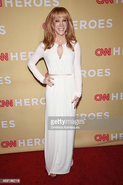 Kathy Griffin attends the 2014 CNN Heroes An All Star Tribute at American Museum of Natural History on November 18 2014 in New York City...