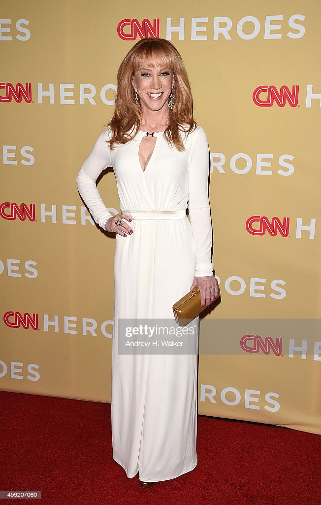 Kathy Griffin attends the 2014 CNN Heroes: An All-Star Tribute at the American Museum of Natural History on November 18, 2014 in New York City.