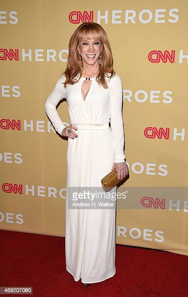 Kathy Griffin attends the 2014 CNN Heroes An AllStar Tribute at the American Museum of Natural History on November 18 2014 in New York City