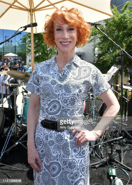 Kathy Griffin attends the grand opening of the Los Angeles LGBT Center's Anita May Rosenstein Campus on April 07 2019 in Los Angeles California