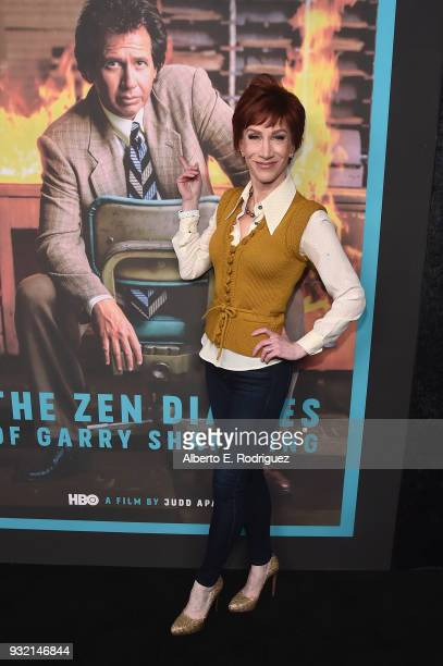 Kathy Griffin attends the Screening Of HBO's 'The Zen Diaries Of Garry Shandling' at Avalon on March 14 2018 in Hollywood California